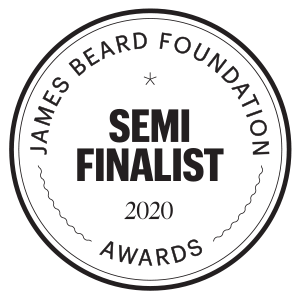James Beard Awards – Semi Finalist – 2020